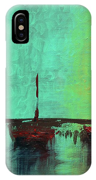 Mystic Bay Triptych 1 Of 3 IPhone Case