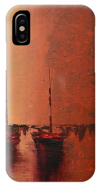 Mystic Bay Triptych 3 Of 3 IPhone Case