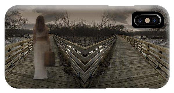 Mystic Bridge In A Dream World IPhone Case