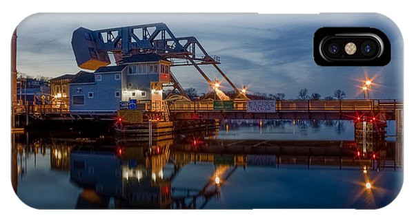 Mystic Drawbridge At Twilight IPhone Case