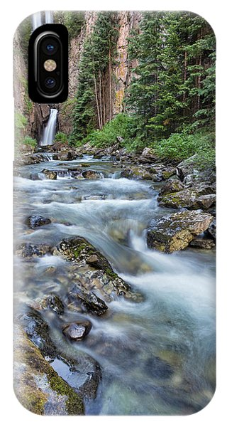 IPhone Case featuring the photograph Mystic Falls by Denise Bush