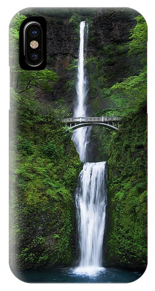 Waterfall iPhone Case - Mystic Falls by Larry Marshall