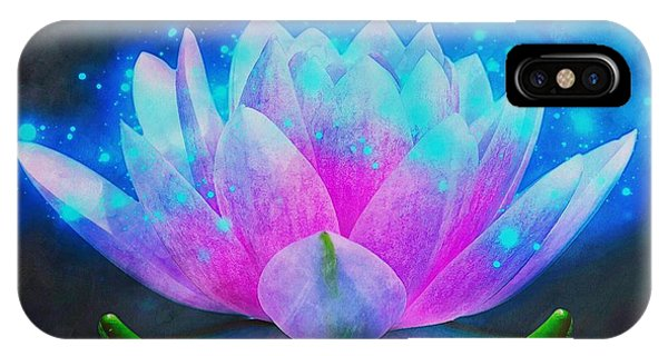 Mystic Lotus IPhone Case