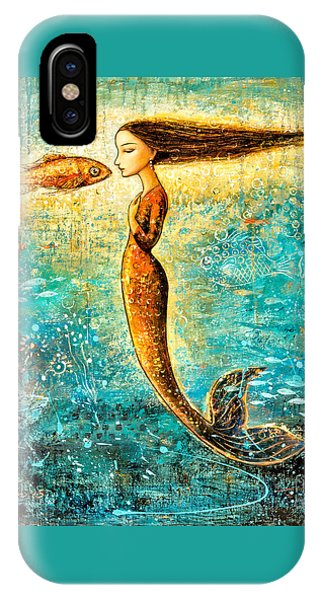 Mystic Mermaid Iv IPhone Case