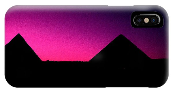 The Pyramids At Sundown IPhone Case