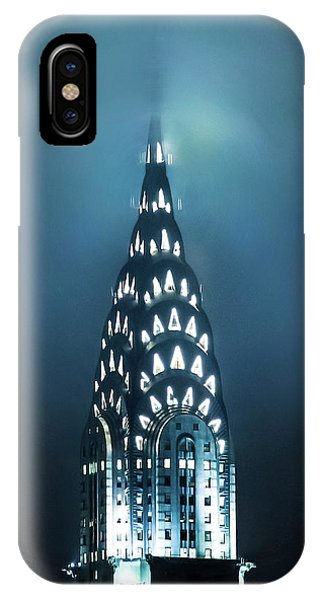 Chrysler Building iPhone Case - Mystical Spires by Az Jackson