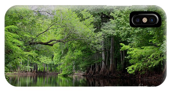 Mystical Withlacoochee River IPhone Case