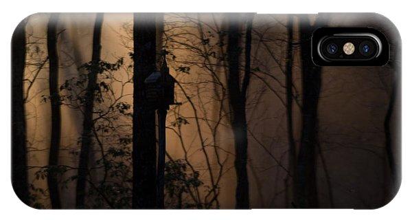 Crossville iPhone X Case - Mystical Woods by Douglas Barnett