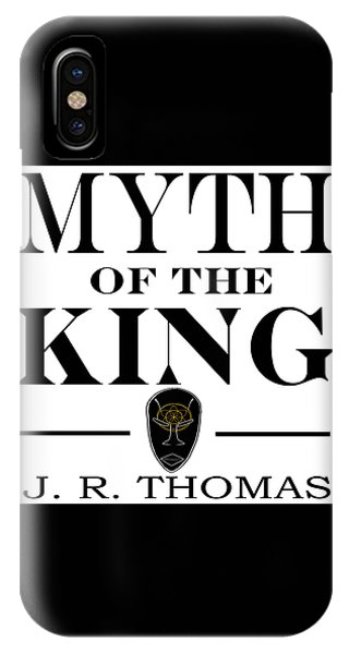 IPhone Case featuring the digital art Myth Of The King Cover by Jayvon Thomas