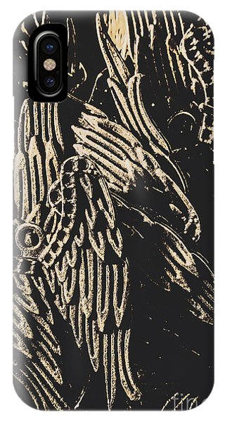 Spirituality iPhone Case - Mythical Angels From History Past by Jorgo Photography - Wall Art Gallery