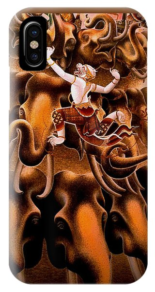 Mythical Warrior Of Siam IPhone Case