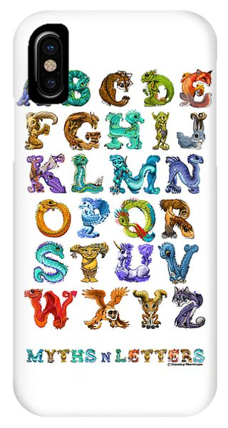 Myths N Letters IPhone Case