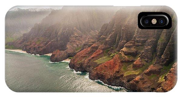 Na Pali Coast 4 - Kauai Hawaii IPhone Case
