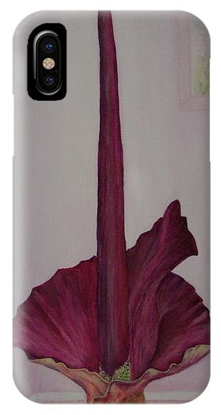 Voodoo iPhone Case - Voodoo Lily - No 2 by Mary Deal