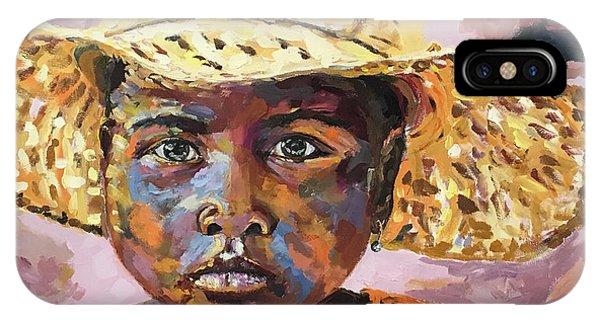 Madagascar Farm Girl IPhone Case