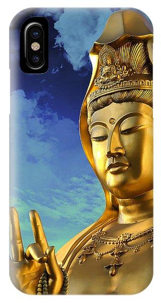 Namo Guan Shi Yin Pusa IPhone Case