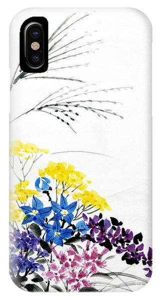 Nanakusa/ Autumn Seven Sisters IPhone Case