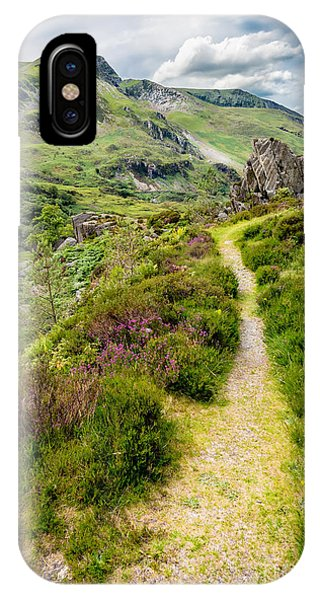 Nant Ffrancon Footpath IPhone Case