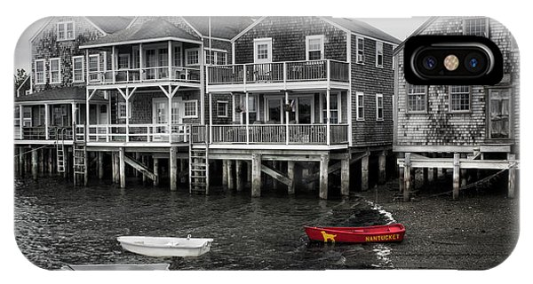 Nantucket In Bw Series 6139 IPhone Case