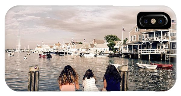 IPhone Case featuring the photograph Nantucket Island by Marian Palucci-Lonzetta