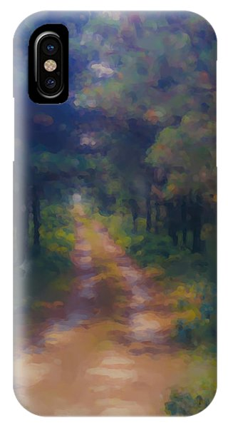 Nantucket Paths #1 IPhone Case