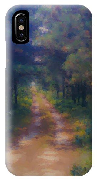 Nantucket Paths #1 IPhone Case