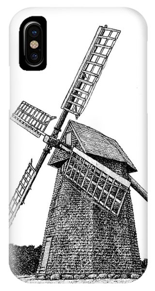 Nantucket Windmill Number One IPhone Case