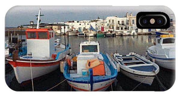 Naoussa Village Island Greece IPhone Case