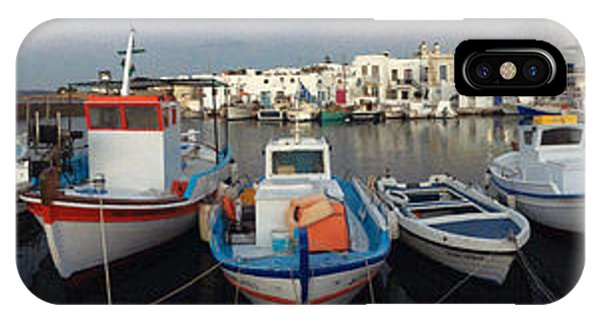 IPhone Case featuring the photograph Naoussa Village Island Greece by Colette V Hera  Guggenheim