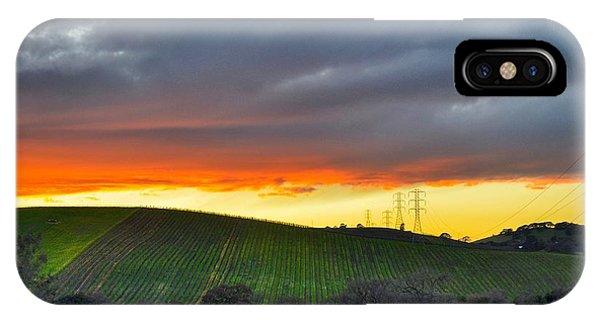 Napa Sunrise IPhone Case