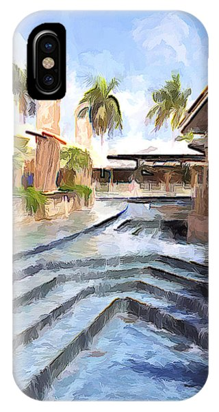 Naples Falls Shopping  IPhone Case