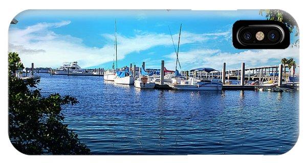 Naples Harbor Series 4054 IPhone Case