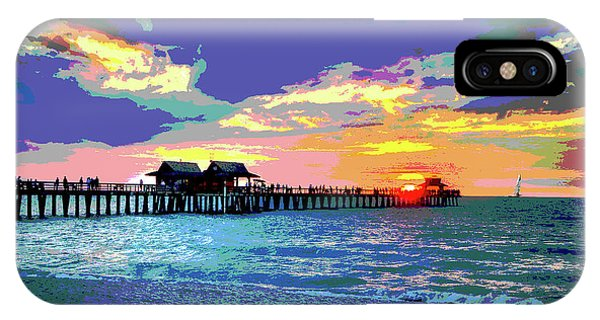 Naples Pier Florida IPhone Case