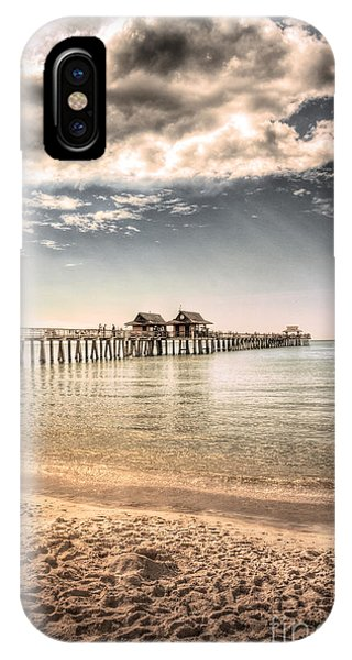 Naples Pier IPhone Case