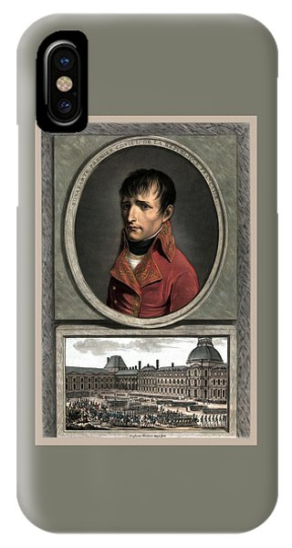 Military iPhone Case - Napoleon Bonaparte And Troop Review by War Is Hell Store