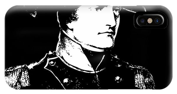 Leader iPhone Case - Napoleon Bonaparte by War Is Hell Store