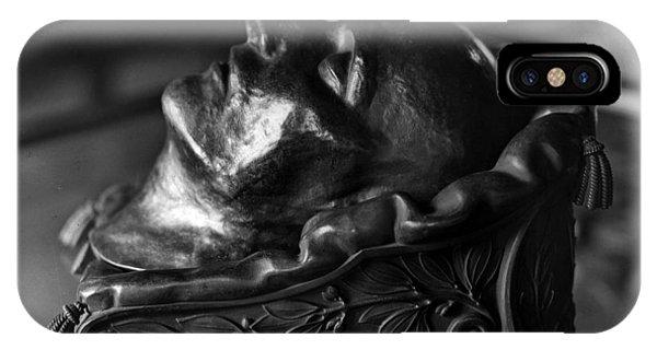 Napoleon Death Mask IPhone Case