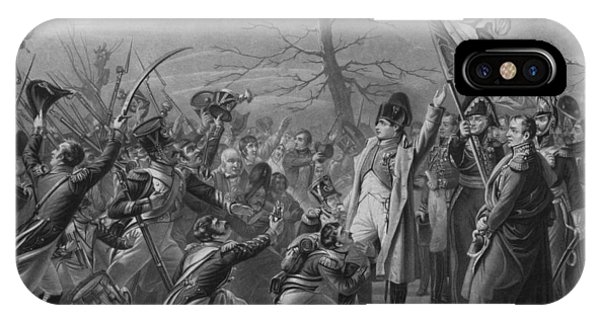French iPhone Case - Napoleon Returns From Elba by War Is Hell Store