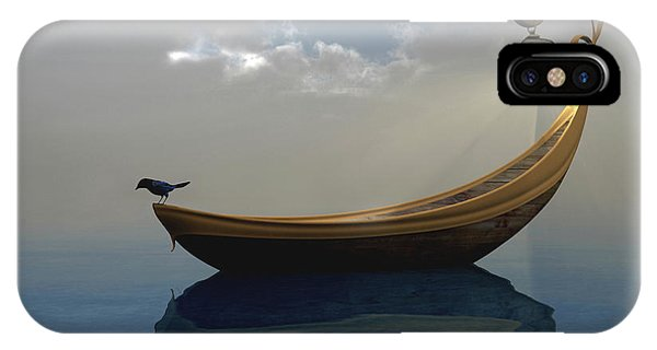 Boats iPhone Case - Narcissism by Cynthia Decker
