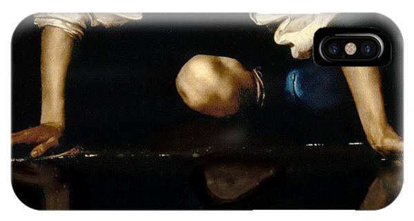 Myth iPhone Case - Narcissus by Caravaggio