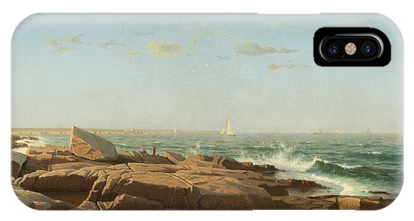 iPhone Case - Narragansett Bay by William Stanley Haseltine