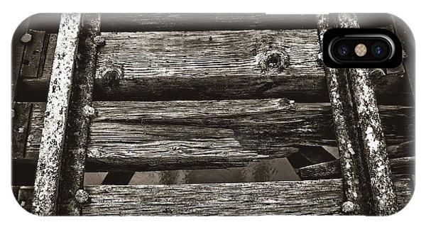 Narrow Gauge Tracks #photography #art #trains IPhone Case