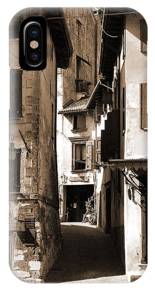 Narrow Streets Of Asolo IPhone Case