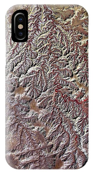 Nasa Image-canyonlands National Park, Utah-2 IPhone Case