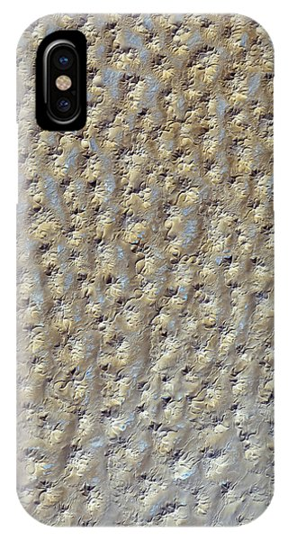 Nasa Image- Star Dunes, Algeria-2 IPhone Case