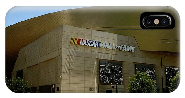 Nascar Hall Of Fame IPhone Case