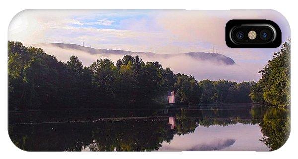 Nashawannuck Pond, Easthampton, Ma IPhone Case
