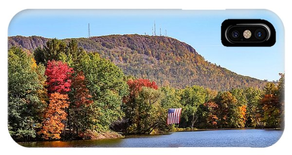 IPhone Case featuring the photograph Nashawannuck Pond Fall Colors by Sven Kielhorn