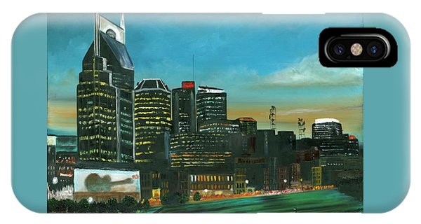 Nashville At Dusk IPhone Case