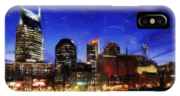 Nashville At Twilight IPhone Case